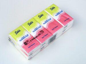 بسته بندی دستمال جیبی